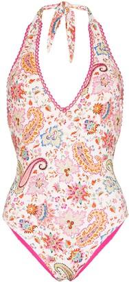 Etro Paisley Printed Swimsuit