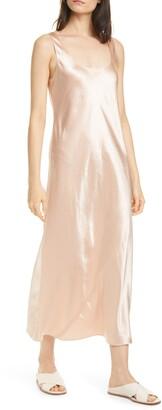 Vince Satin Tank Dress