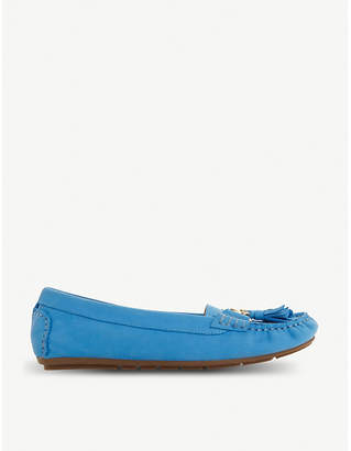 Dune Geena leather moccasin loafers