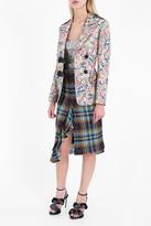 Marco De Vincenzo Floral Brocade Jacket