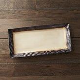 Crate & Barrel Scavo Rectangular Platter