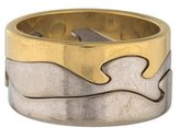 Georg Jensen 18K Fusion Puzzle Ring