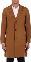 Theory Men's Delancey Cashmere Coat-TAN