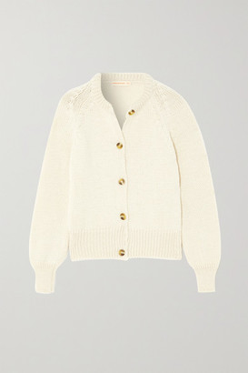 &Daughter Constance Wool Cardigan - Cream