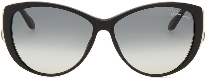 Roberto Cavalli Drop-Temple Sunglasses