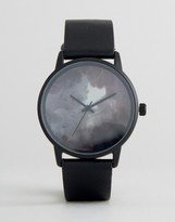 Asos Watch With Smoke Design Face