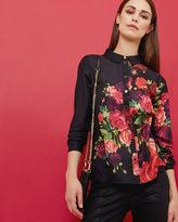 APLIH Juxtapose Rose print shirt