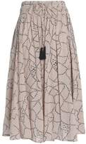 Antik Batik Printed Cotton Midi Skirt