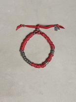 John Varvatos Wrapped Leather Bracelet