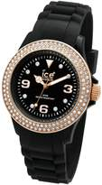 Ice Watch Ice-Watch Women's Stone ST.BK.S.S.09 Silicone Quartz Watch with Dial