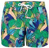 Topman Parrot Print Swim Shorts