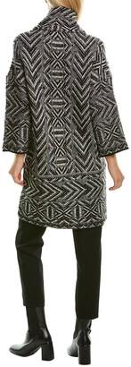 Piazza Sempione Wool, Cashmere, & Silk-Blend Coat