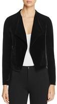 Lysse Leigh Velvet Cropped Jacket
