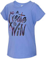 adidas Win-Print T-Shirt, Little Girls