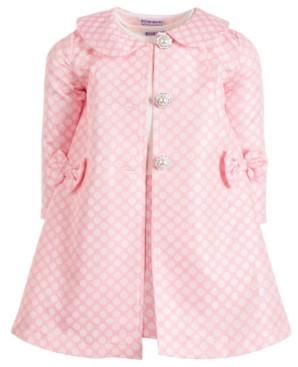 Blueberi Boulevard Toddler Girls 2-Pc. Polka-Dot Jacket & Dress Set