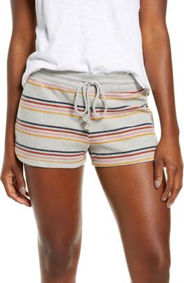 PJ Salvage Retro Revive Stripe Thermal Shorts
