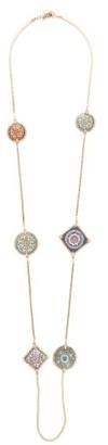 Rosantica Sicilia Tile-charm Necklace - Multi