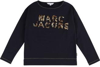 Little Marc Jacobs Girls Blue Tee-Shirt