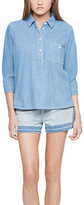 Paper Denim & Cloth Blue Denim Davis Button-Front Shirt