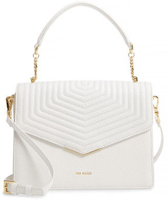 Ted Baker Brittni Top Handle Leather Envelope Bag