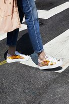 D.A.T.E Poplin Platform Sneaker by at Free People
