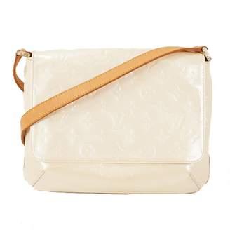 Louis Vuitton Thompson White Patent leather Handbags