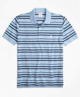 Brooks Brothers Slim Fit Supima® Cotton Pique Varied Stripe Polo Shirt