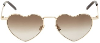 Saint Laurent Sl 301 Loulou Heart Metal Sunglasses