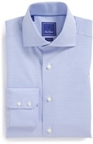 David Donahue Men's 'Royal' Trim Fit Solid Dress Shirt