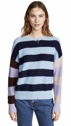 Parker Women's Mila Long Sleeve Boatneck Oversized Sweater