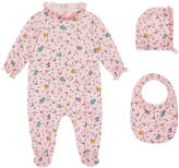 Gucci Baby space birds print gift set