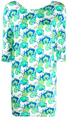 P.A.R.O.S.H. Abstract-Print Longline Top