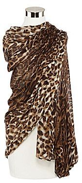 JCPenney Animal Print Scarf