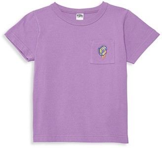 Billionaire Boys Club Little Boy's & Boy's Galactic Scout Prepared Embroidered Pocket Tee