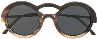Rigards RG0095 round-frame sunglasses