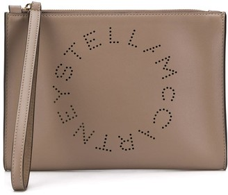 Stella McCartney Stella Logo clutch