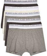 River Island Grey Boxers Multipack