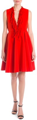 MSGM Fringe Mini Dress