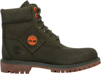 """Timberland 6"""" Premium Waterproof Boots Outdoor Boots - Forest"""