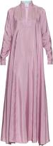 Thierry Colson Parvati striped silk dress