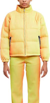 Mademe Lenticular Puffer Coat