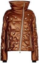 Bogner Embellished Leather Padded Coat