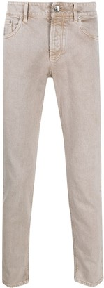 Brunello Cucinelli Straight Leg Jeans