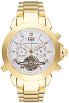 Jean Bellecour Jean reds5 Bellecour – Timeless Gold Analog – Watch Men – Automatic – White Dial – Steel Bracelet