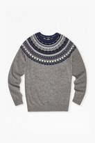 French Connection Winter Fair Isle Novelty Jumper