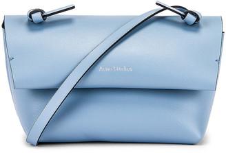 Acne Studios Mini Bag in Light Blue & Black | FWRD