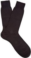 Pantherella Chalcot Chevron-knit Cotton-blend Socks