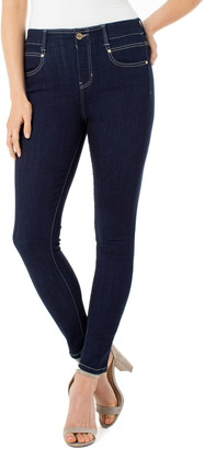 Liverpool Gia Glider Pull-On Ankle Skinny Jeans