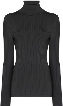 Joseph Ribbed-Knit Turtleneck Jumper