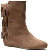 Isola Tricia Suede Wedge Boots
